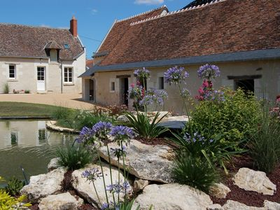 Photo for Between Amboise and Chenonceaux, 4 * cottage, private spa & sauna