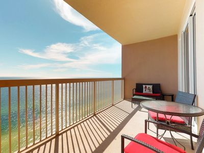 Photo for Oceanfront condo near beach w/shared pool & hot tub