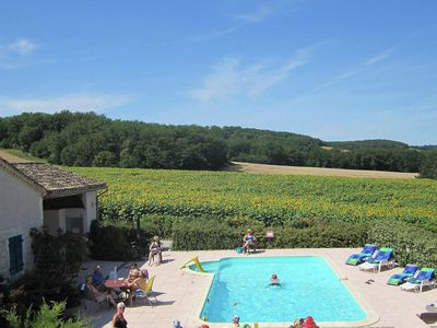 Photo for Beautiful domain with private heated pool and stunning views.