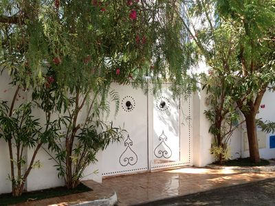 Photo for Arabesque style villa 300m from the beach in residential area and guarded.