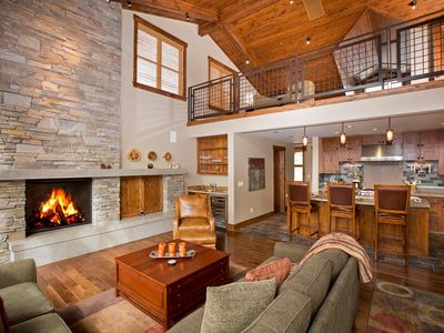 Photo for Trailside - Luxury Ski-in/out 4BR Townhome with Hot Tub - Stay and Ski FREE