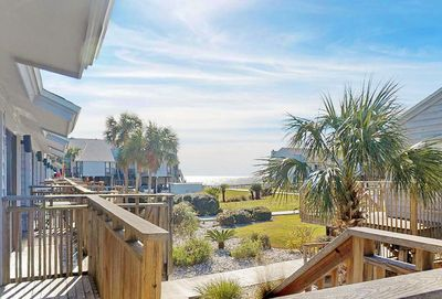 Catch a glimpse of the Gulf from your Deck