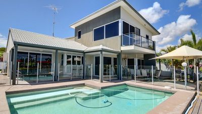 Photo for Coorumbong 36 - Six Bedrom Home W/ Pool+ Wifi+ Private Pontoon+ Pool Table and BBQ