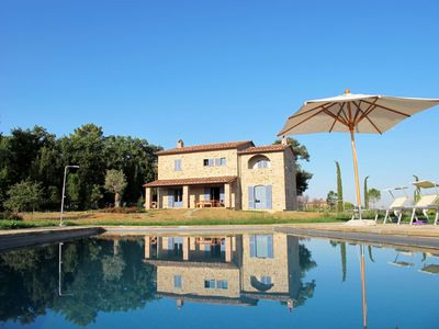 Photo for Family Villa in Tuscany, Private Heated Pool, Private Gardens. Perfect Vacation - Friends & Family