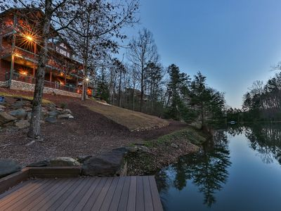 Photo for The Dacha - Luxurious 4 Bedroom Lake House