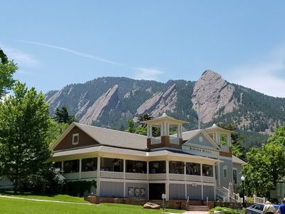 The Flatirons and Chautauqua Dining Hall