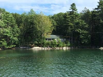 Photo for Waterfront Cottage with Sunsets, Hot Tub and Dock access