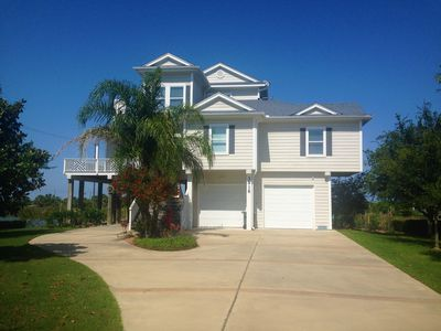 Photo for BEAUTIFUL CANAL HOME GREAT FOR FISHING IN PRIVATE SUBDIVISION - SPANISH GRANT