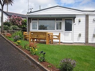Photo for 2 Bedroomed Holiday Bungalow In Galmpton Brixham Torbay Devon
