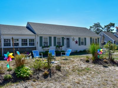 Photo for Beaten Rd 4. Cozy cottage with central ac,  .4 miles to sandy ocean beach