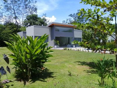 Photo for Lilan Nature, Modern House N°1 with private swimming pool, A/C and Wifi