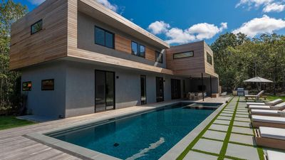 Photo for Modern Architecture & Chic Design on 2 Acres, 5,500' Home with Endless Entertainment
