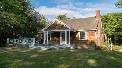 Photo for East Hampton 3BR/3BA house on private beach!  Amazing Harbor View!