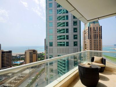 Photo for Well-placed short term rental in Dubai with captivating views
