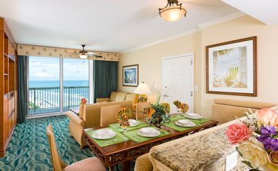 Photo for BeachFront 2BR/2BA, Jacuzzi, Pool. Hot Tub, Lazy River, balcony, Westgate Resort