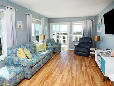 Photo for Finestere A2, 2 BR Ocean Front Condo with Outdoor Swimming Pool and Stunning Ocean Front Views
