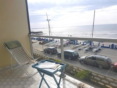 Photo for APARTMENT T2 CABIN ON WIMEREUX, FRONT OF SEA WITH BALCONY AND GARAGE