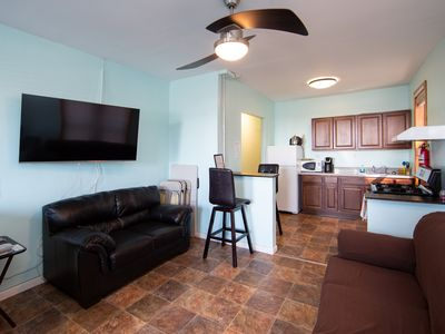 Photo for Private and Spacious Loft located just 1 block from area, beaches, amusement etc