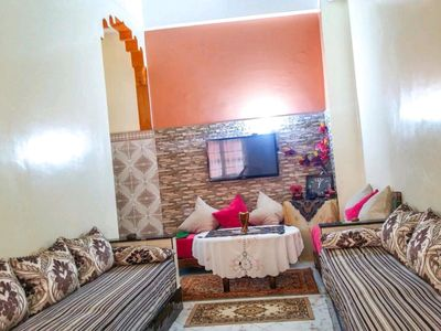 Photo for Oriental bedroom in a traditional Moroccan apartment