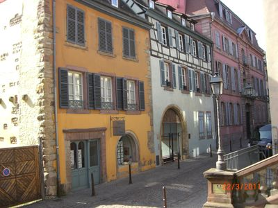 Photo for Charming apartment in Colmar's touristic center «La cour des cigognes »