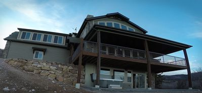 Photo for Giant (32+ people) Cabin! Perfect for families, boating, & snowmobiling!