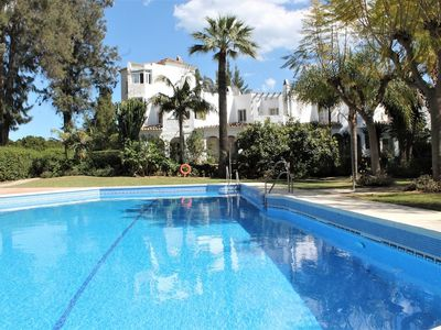 Photo for Apartamento con vistas Golf y Piscina