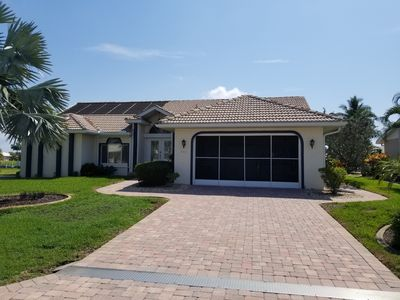 Photo for Stunning three bedroom, two bath canal home with pool in Punta Gorda Isles