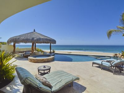 Photo for 4BD Beachfront Villa With Private Infinity Pool/Jacuzzi