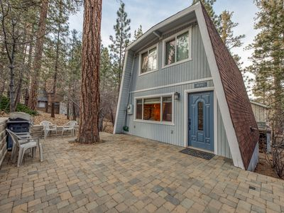 Photo for Beautiful cabin w/ forest views, a large patio, & free WiFi - close to skiing!