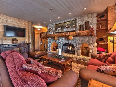 Photo for CDC Approved Cleaning! Lower Deer Valley Mountain Style. Private Hot tub + Shuttle