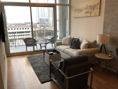 Photo for Stylish and Cozy Apartment-Downtown Austin