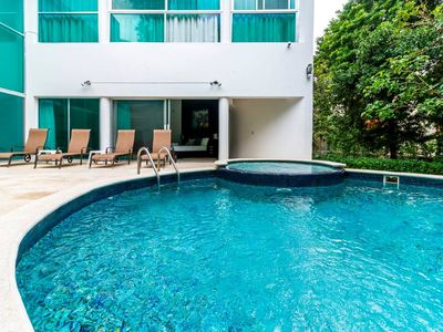 Photo for Iconic Villa w/ Private Pool in Playacar, 5 min drive to beach