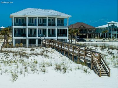 Photo for NEW LUXURY GULFFRONT Designer home,  Boardwalk, Slps 26,