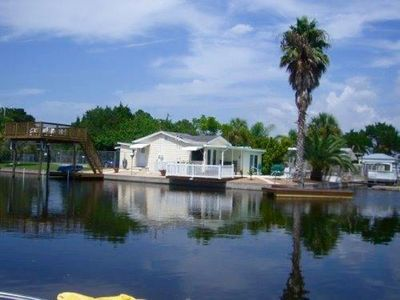 Photo for Awesome Location! Waterfront Bungalow, Pool!