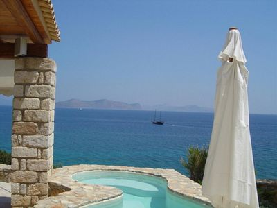 Photo for Thalassoporta: Stunning views and a private beach