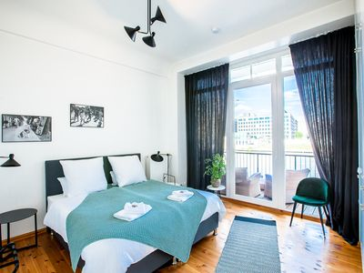 Photo for Design apartment in Kreuzberg with a view of the Spree