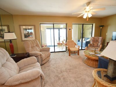 Photo for Beach Front Condo with Spacious Living Room ~ Bender Vacation Rentals