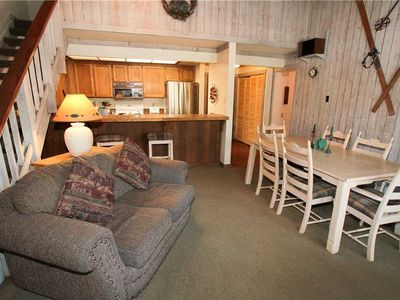 Photo for Mountainback Condo #12. A quiet 2  bedroom with loft unit! WIFI