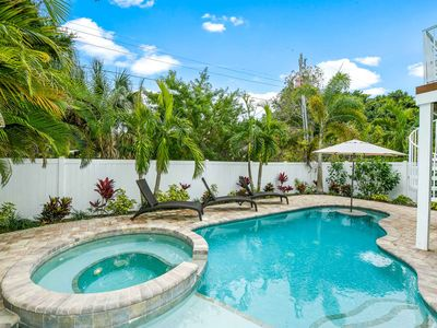 Photo for Beautiful Tropical Paradise Home with Beach Access Just Steps Away