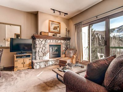 Photo for Wonderful mountain views from living room plus great on-site amenities!