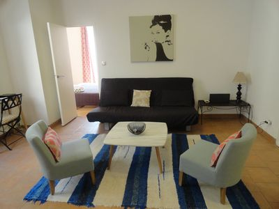 Photo for Lovely and Stylish 1 Bedroom Apartment a few minutes from The Croisette