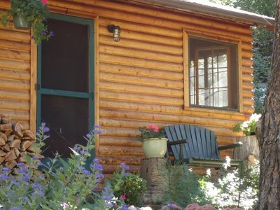 Photo for Charming, rustic cabin along creek in Boulder Canyon #1