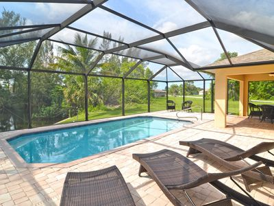 Photo for Villa Blue Dolphin: Modern vacation home on Gulf access canal - NEW VIDEO TOUR!