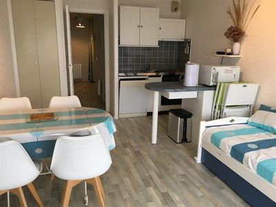 Photo for Apartment Fort-Mahon-Plage, studio flat, 4 persons