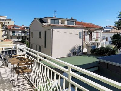 Photo for Nice apartment for 4 guests with A/C, WIFI, TV, balcony and pets allowed