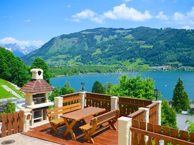 Photo for Chalet Over-The-Lake - chalet in a typical Austrian Alpine style, beautiful view over the lake