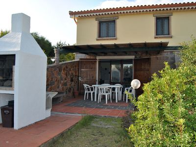 Photo for Apartment with large veranda, San Antioco, 1000 meters from Cala Sapone