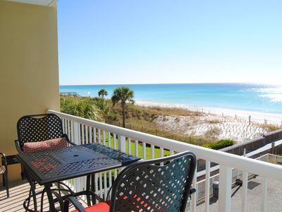 Photo for Perfect Ocean Front, 3rd Floor, Large Pool, Cvrd Parking, Beach Service -we313