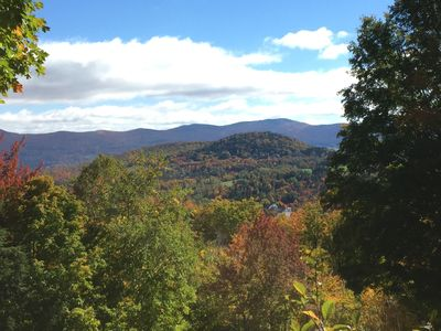 Photo for 4 bedroom condo steps from the trail at Sugarbush Mountain!