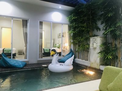 Photo for 2 Bedroom private pool villa near Canggu